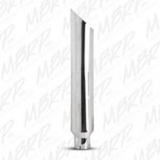 "MBRP Exhaust - MBRP UNIVERSAL 1 PC STACK 6"" ANGLE CUT 36"" MIRROR POLISHED - B1610 - Image 3"