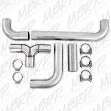 """MBRP Exhaust - MBRP UNIVERSAL FULL SIZE PICKUP 4"""" """"T"""" PIPE KIT - UT2001 - Image 2"""