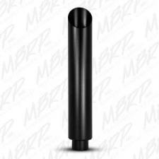 "Exhaust - Exhaust Tips - MBRP Exhaust - MBRP Universal 6"" 1pc stack angle cut 36"" tall black finish - MBRP-B1610BLK"