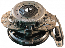 Transmission - Manual Transmission Parts - South Bend Clutch - SOUTH BEND CLUTCH 99-03 ZF6 DYNA MAX ORGANIC CLUTCH KIT SFDD3250-6