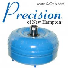 Transmission - Automatic Transmission Parts - PRECISION OF NEW HAMPTON - PRECISION OF NH 7.3L 94.5-03 Triple Disc Billet Torque Converter - 2648A-PS-RV