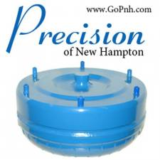 Precision of New Hampton - PRECISION of NH 94.5-03 7.3L Triple Disc Billet Cover Torque Converter - 2648A-PS-RV - Image 2