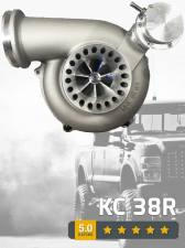 Turbo Chargers & Components - Turbo Chargers - KC Turbos - KC Turbo KC38R 99.5-03 7.3L 66/73 Dual Ball Bearing Turbo- KCT-300254