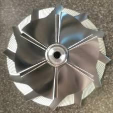 KC Turbos - KC Turbo 94.5-03 7.3L Billet Wheel GTP38/TP38 - KCT-300123 - Image 2