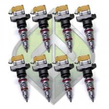 Fuel System & Components - Fuel Injectors & Parts - ALLIANT Power - Alliant Power NEW 7.3L (Stage 2) 160-180CC Injectors - FULL-7.3-160-180/100-N