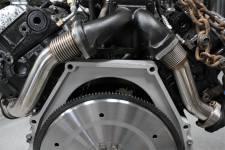Dieselsite - DIESELSITE 94-03 7.3L H2E Bellowed up-pipe kit - H2EBU - Image 2
