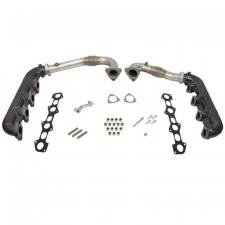 Exhaust - Up Pipes - BD Diesel - BD-POWER 08-10 6.4L Exhaust Manifold & Up-Pipe Kit - 1041481