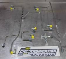CNC Fabrication - CNC Fabrication '99-03 7.3L 4-Line Feed Fuel Line Kit - CNC-7.3-SD-BRFK - Image 7