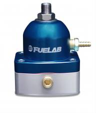 Fuel System & Components - Fuel System Parts - FUELAB - Fuelab Fuel Pressure Regulator Blue - 51502-3