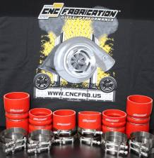 CNC Fabrication - CNC Fabrication 99.5-03 7.3L Charge Air Cooler Boot Kit - 7.3-SD-CAC-KIT - Image 3