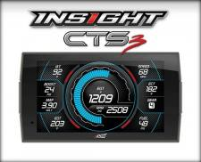 Gauges & Pods - Gauges - Edge Products - EDGE PRODUCTS INSIGHT CTS3 MONITOR (1996/NEWER OBDII ENABLED VEHICLE) 84130-3