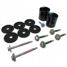 S&B Filters - S&B Filters 80-97 F-Series All Cab Styles Silicone Body Mount Kit - 81-1008 - Image 5