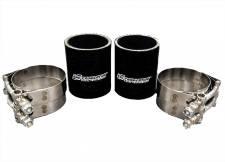 CNC Fabrication 94.5-97 7.3L Intake Plenum Boot Kit - 7.3-OBS-IPBK-BLA